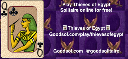 Thieves of egypt solitaire online