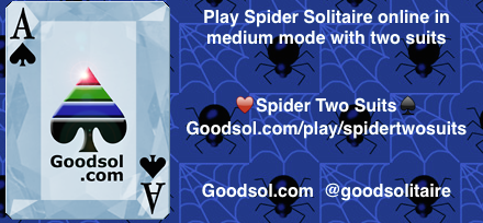 free online spider solitaire two suit